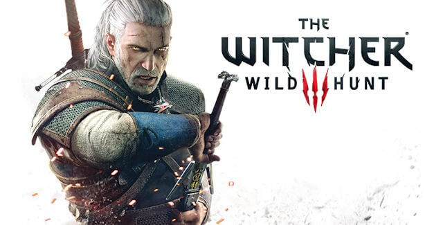 The Witcher 3 - White Wallpaper