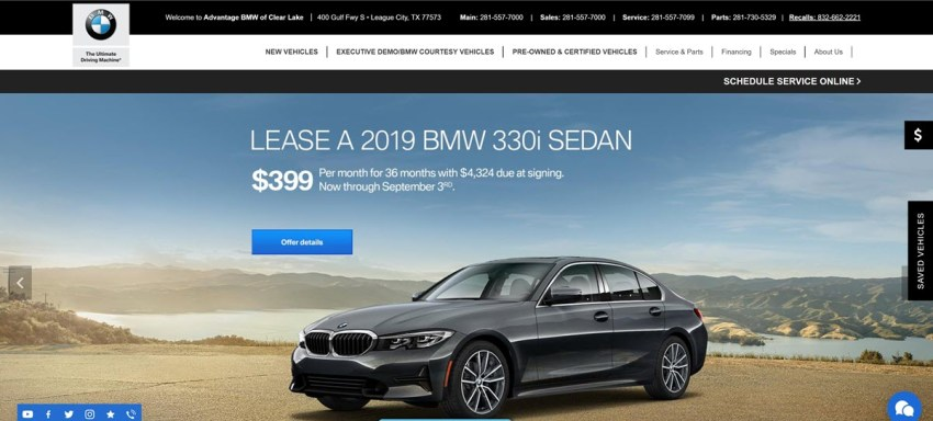 Advantage Bmw Of Clear Lake To Spend 10 Million To Occupy 59 896 Square Feet Of New Space In Friendswood Texas Intelligence360 News