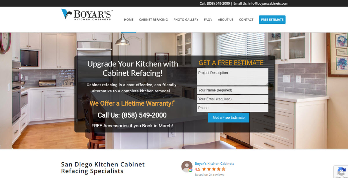 Boyar S Inc Dba Boyar S Kitchen Cabinets Has Secured 2 400 000 00 In Commercial Capital For Expansion In San Diego California Intelligence360 News