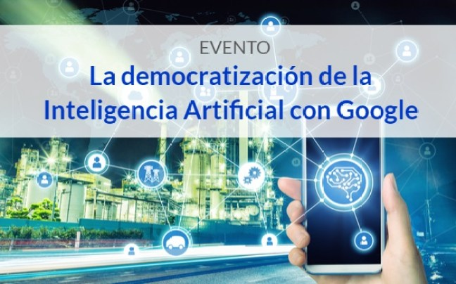 Evento Intelingencia Artificial Google