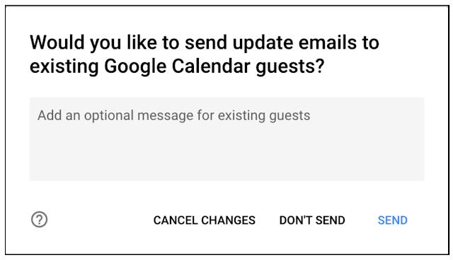 notificações de atualização