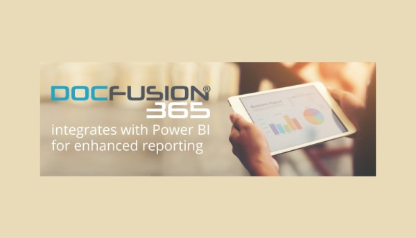 DocFusion® 365 integrates with Power BI for enhanced reporting