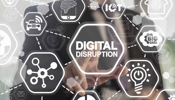 Digital disruption defines change across industries and organisations