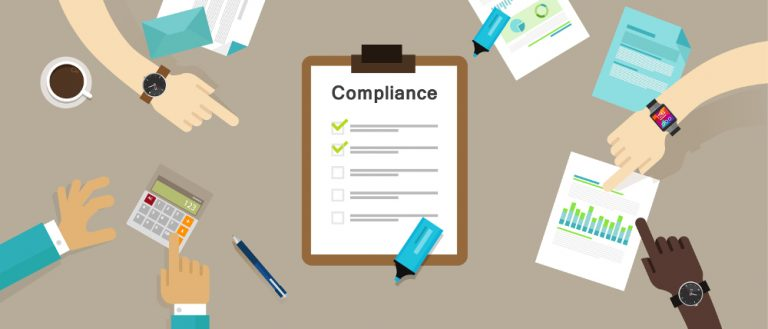 Bigstock compliance to regulation process blog 768x329 - A HIPAA Security Rule Risk Assessment Checklist For 2018