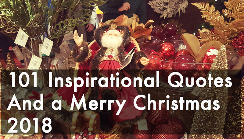 101 Inspirational Quotes And A Merry Christmas Intelligenthq