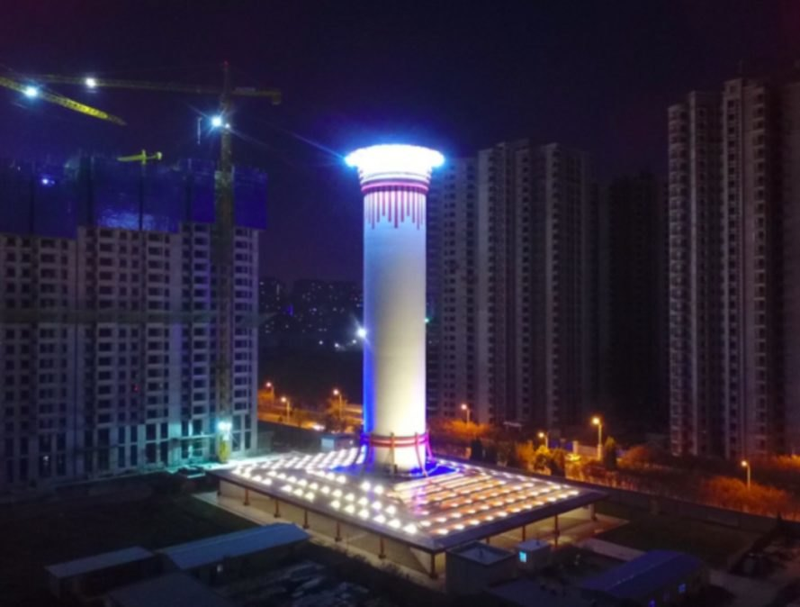 China Built The World's Biggest Air Purifying Tower And It Works!