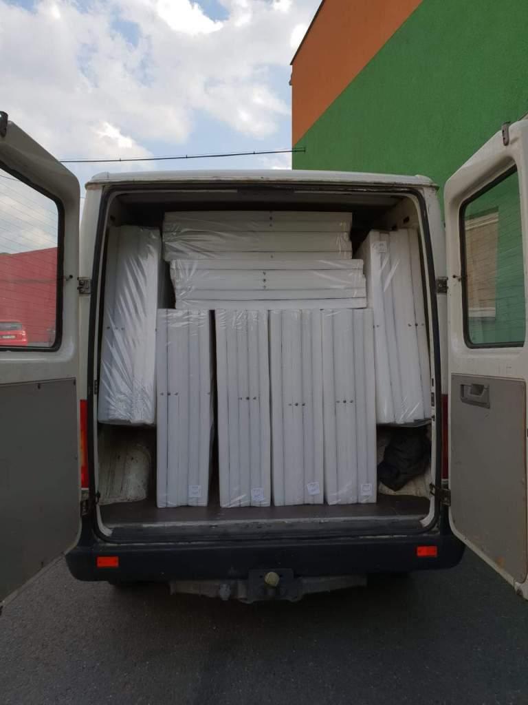 Materiais para os abrigos portáteis Iglou