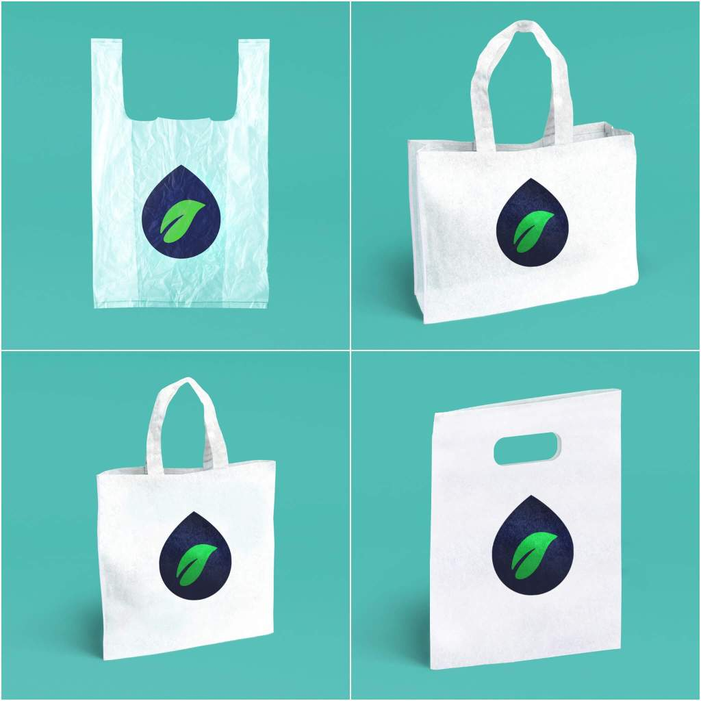 New Non-plastic Bags Dissolve In Hot Or Cold Water In Minutes And ...