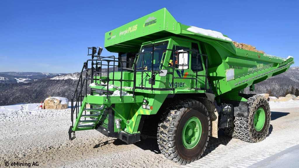 The eDumper electric vehicle