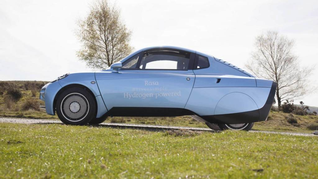 The rasa hydrogen powered car