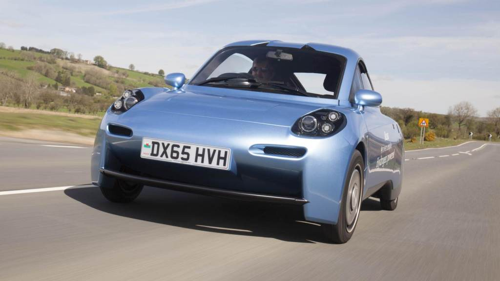 The rasa hydrogen powered car by Riversimple UK