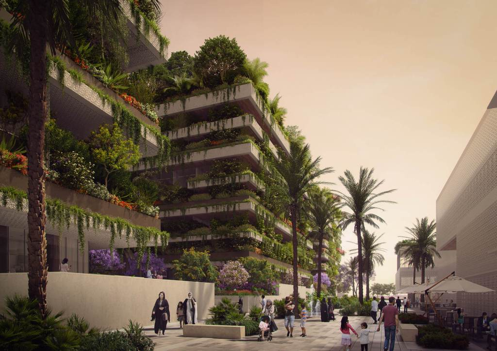Cairo vertical forest project
