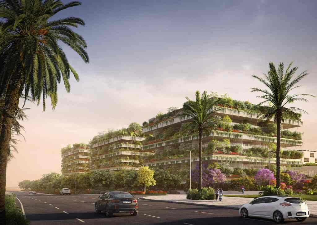 Vertical forest project in Cairo, Egypt