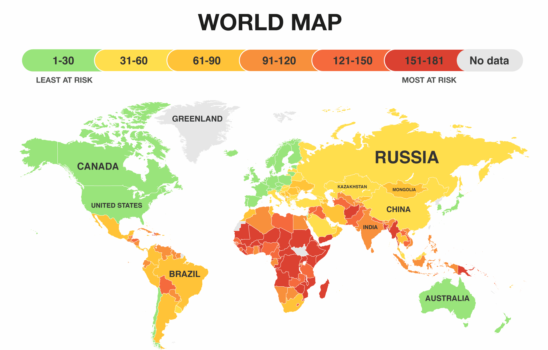 Picture of: These Maps Show Which Countries Could Survive Climate Change