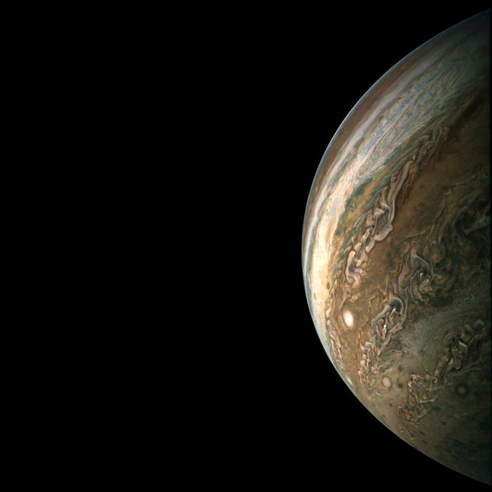Check Out These Mind-Bending Photos Of Jupiter Taken By NASA!