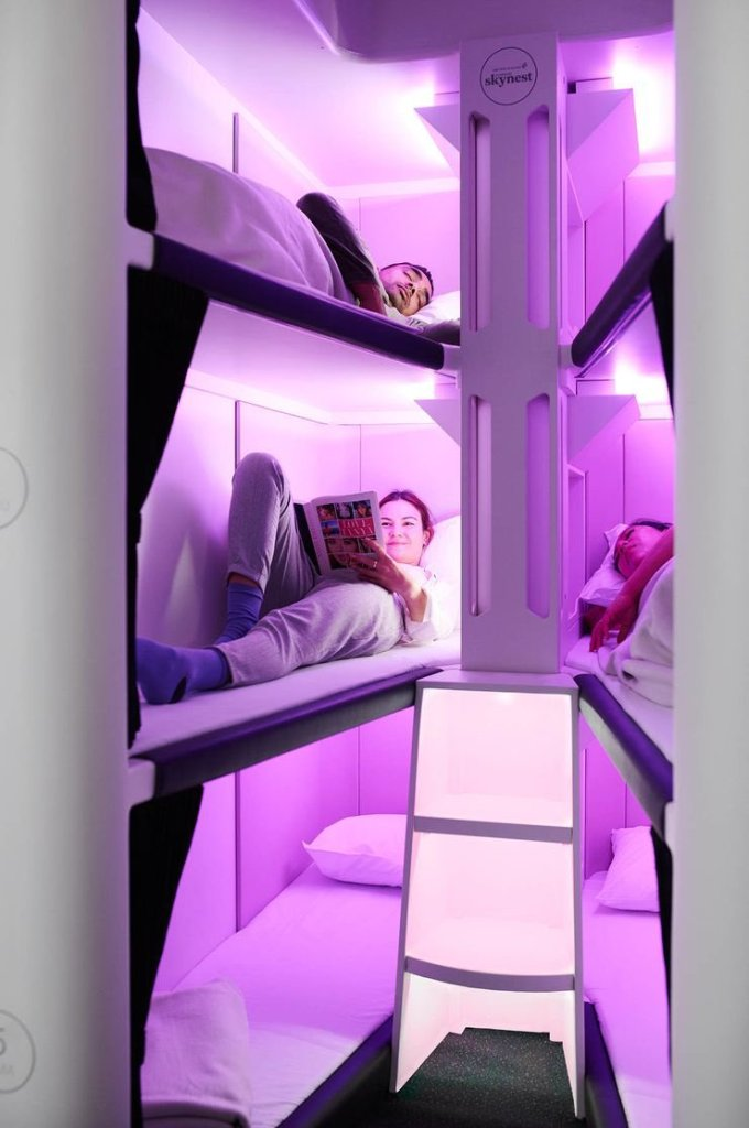 Air New Zealand To Offer Lie-Flat Seeping Pods For Passengers To Nap