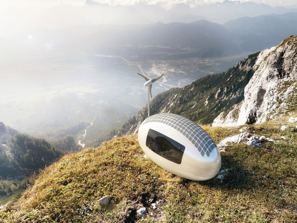 Ecocapsule's New Version Of Egg-Shaped Mobile Home