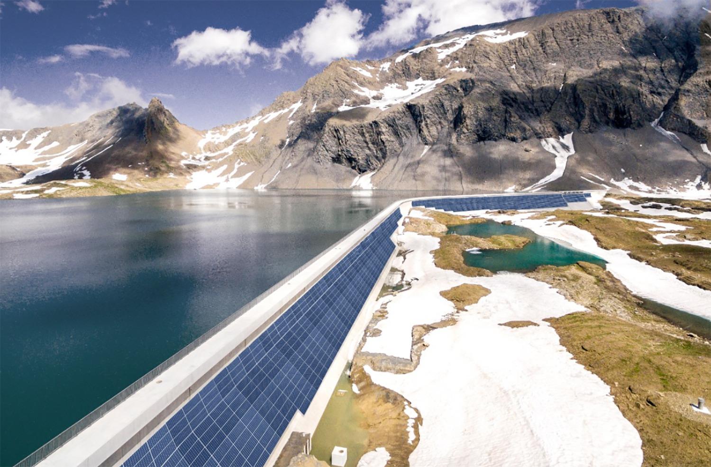 瑞士75%的电力来自可再生能源---2020年4月,瑞士第一座大型高山太阳能发电厂获得了绿灯开始运行。