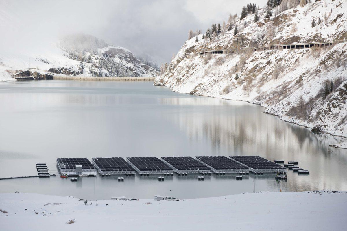 瑞士75%的电力来自可再生能源---Romande Energie的浮动PV系统
