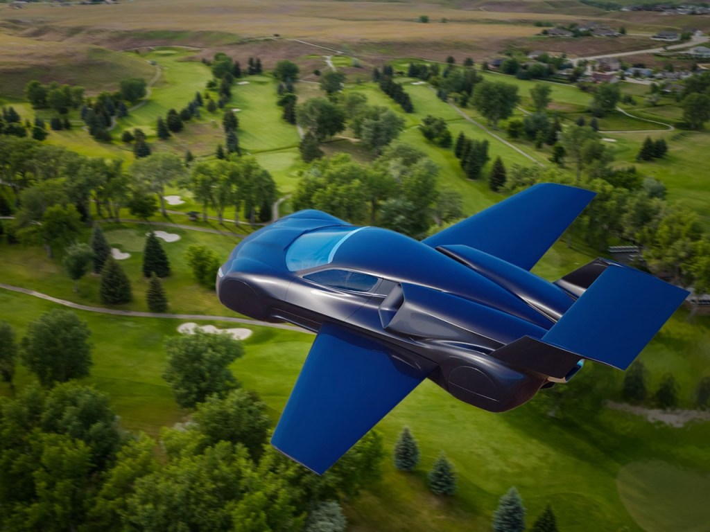 A Race Car That Can Speed In The Streets, Then Take Off Into The Sky!