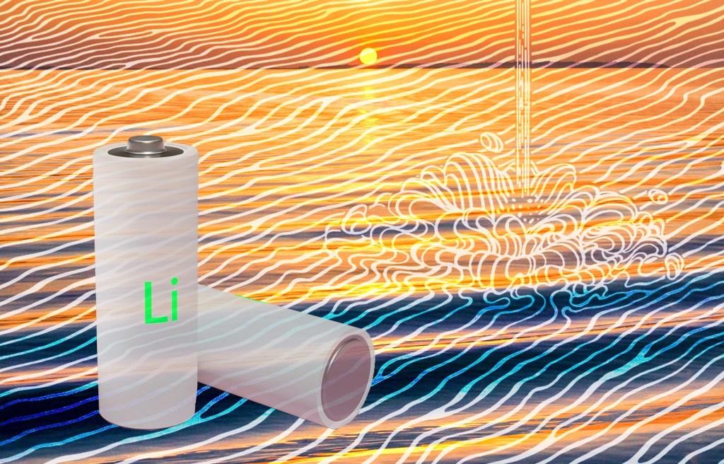 科学家开发出从海水中提取锂的方法