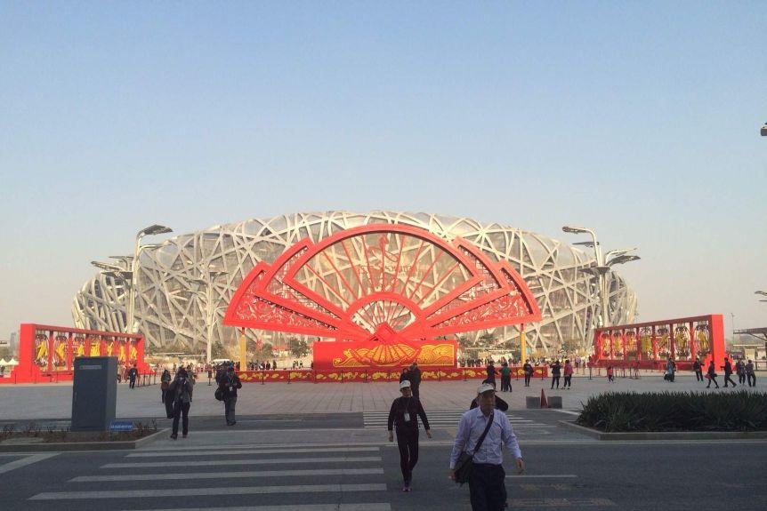 Bird's Nest, Beijing Olympics stadium