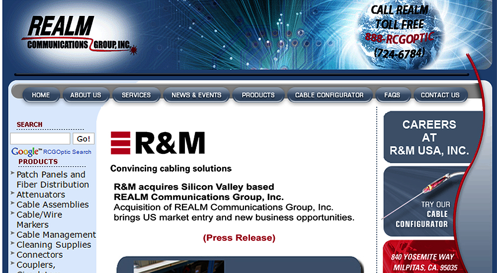 R&M acquires US based Realm Communications