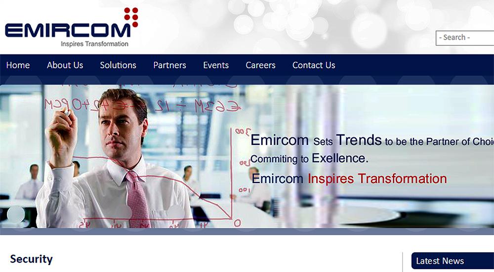 Emircom receives best growth award from Fortinet