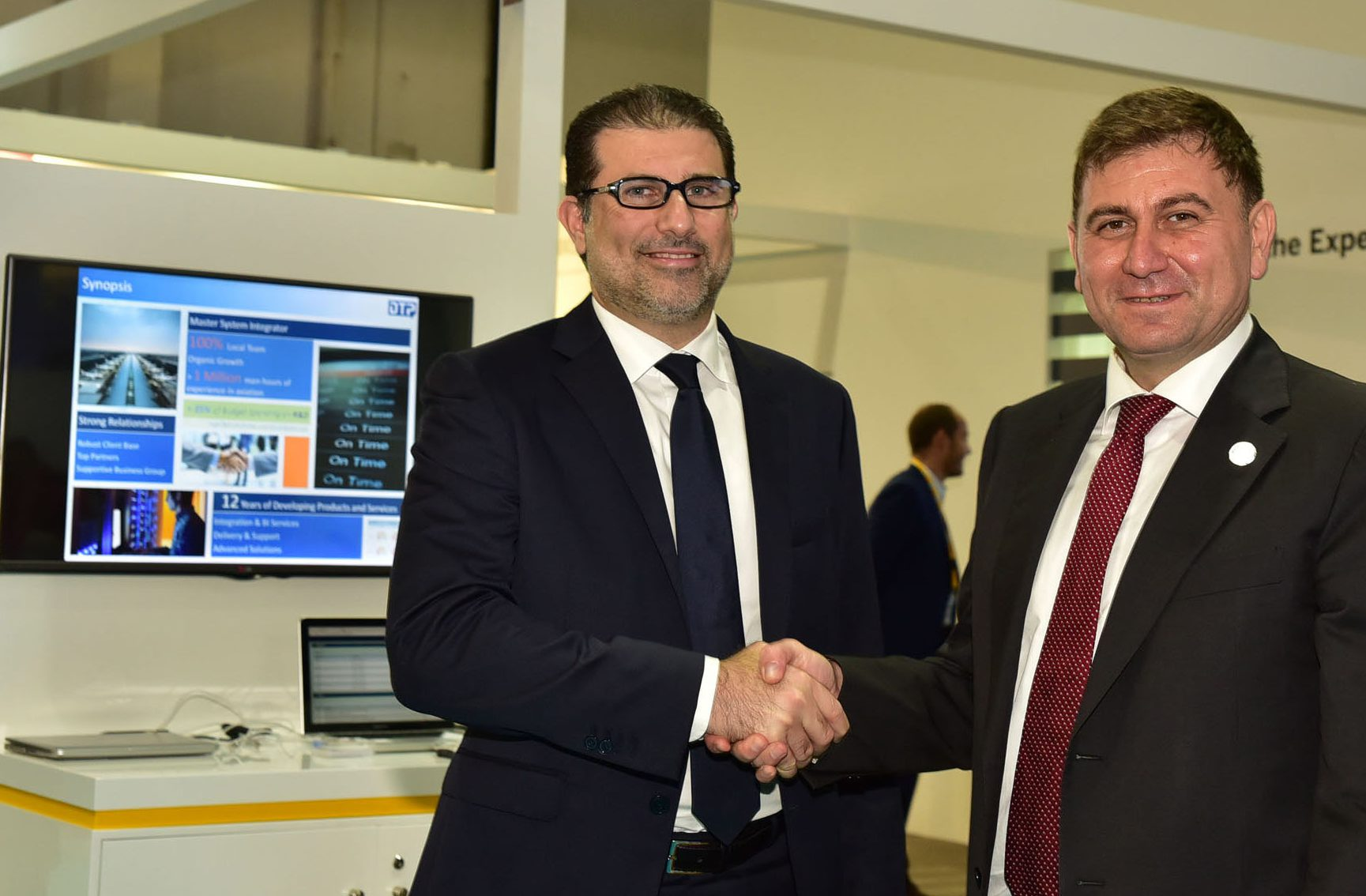 DTP presents aviation solutions running on SAP HANA at Gitex 2016
