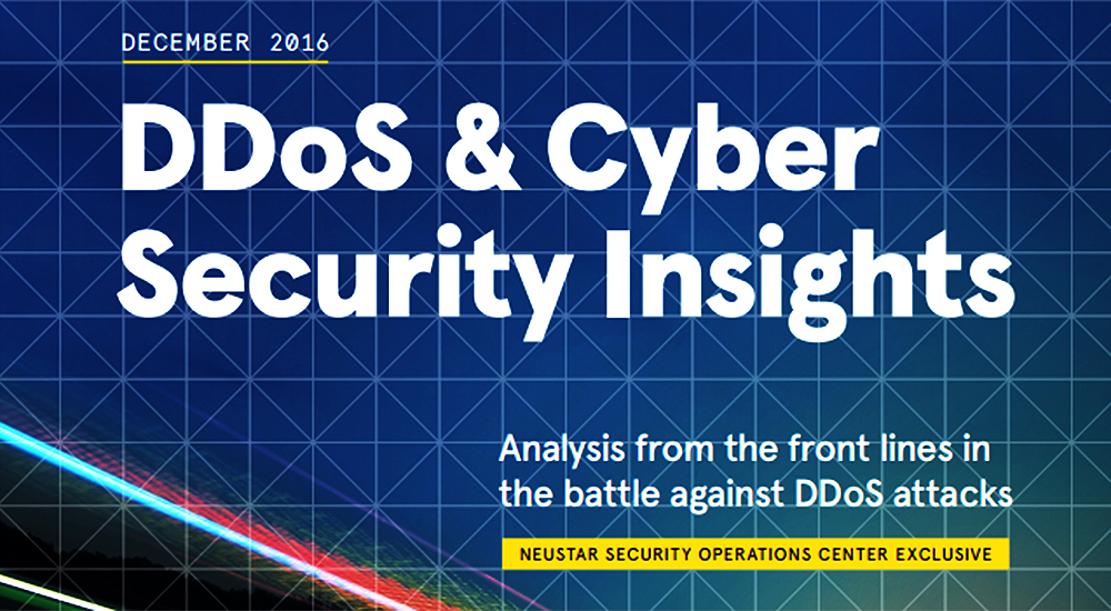 Security information provider Neustar releases annual Cyber and DDos report