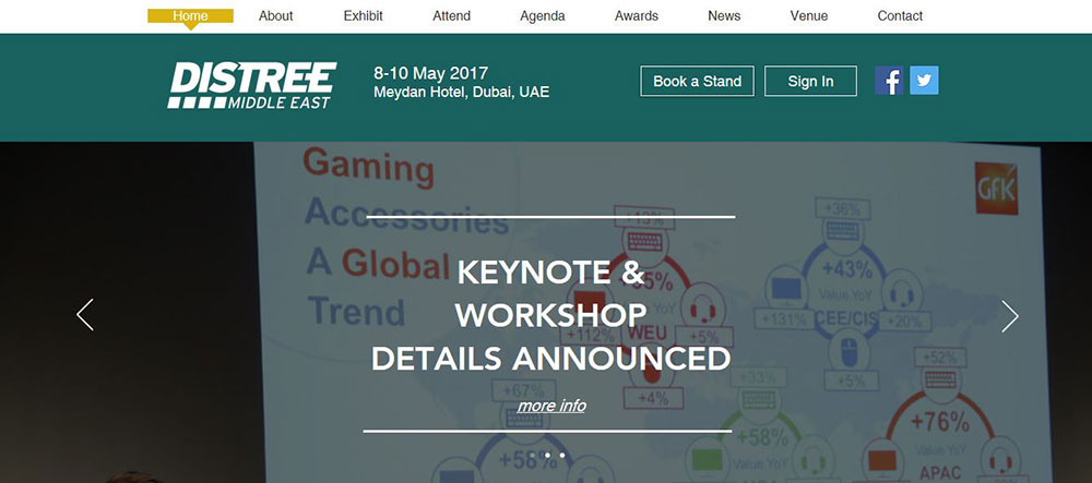 Azur Digital, CONTEXT and GfK keynote topics confirmed for DISTREE Middle East 2017