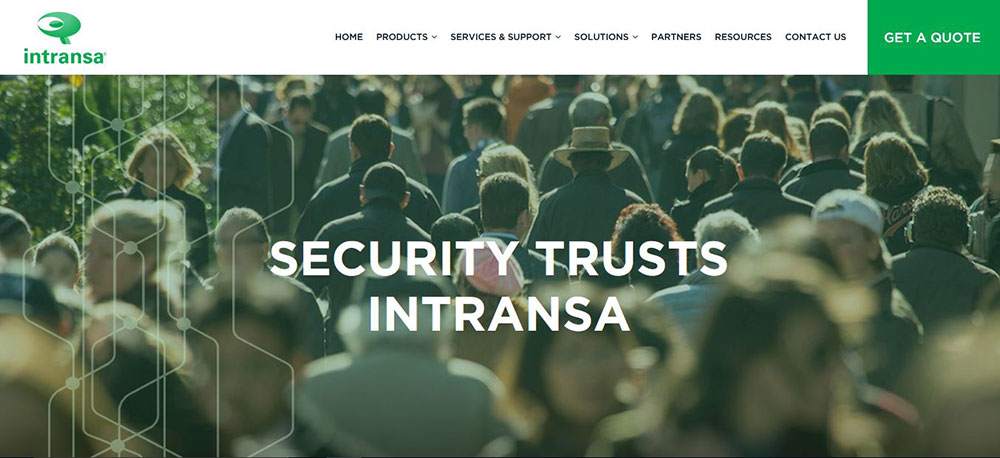 Intransa video surveillance storage and server solutions on show at Securex South Africa