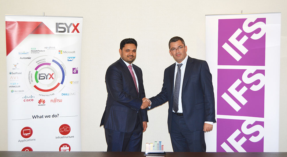 ISYX Technologies joins IFS partner network to help MEA organisations leverage digital transformation