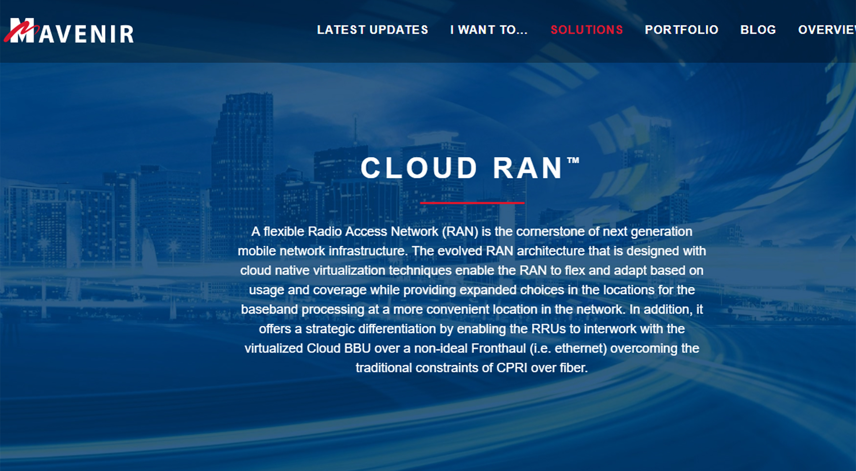 94% service providers to deploy Cloud RAN in 5G networks