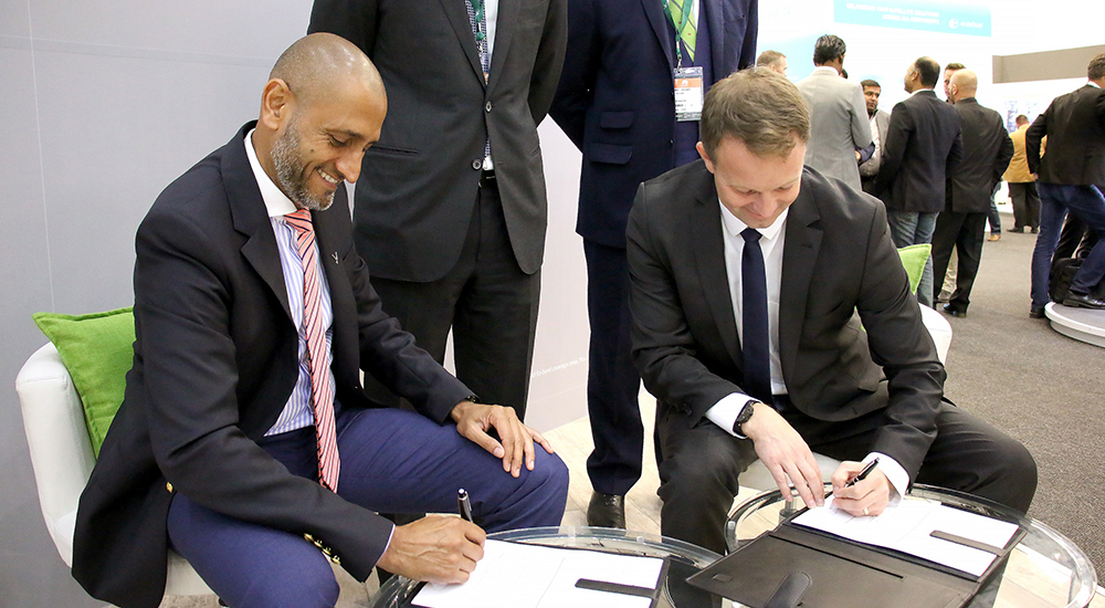 Abu Dhabi's Yahsat partners with Bluetown to provide connectivity to Africa