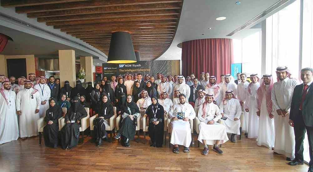 SAP Training Institute skills 750+ Saudi nationals supporting Saudi Vision 2030