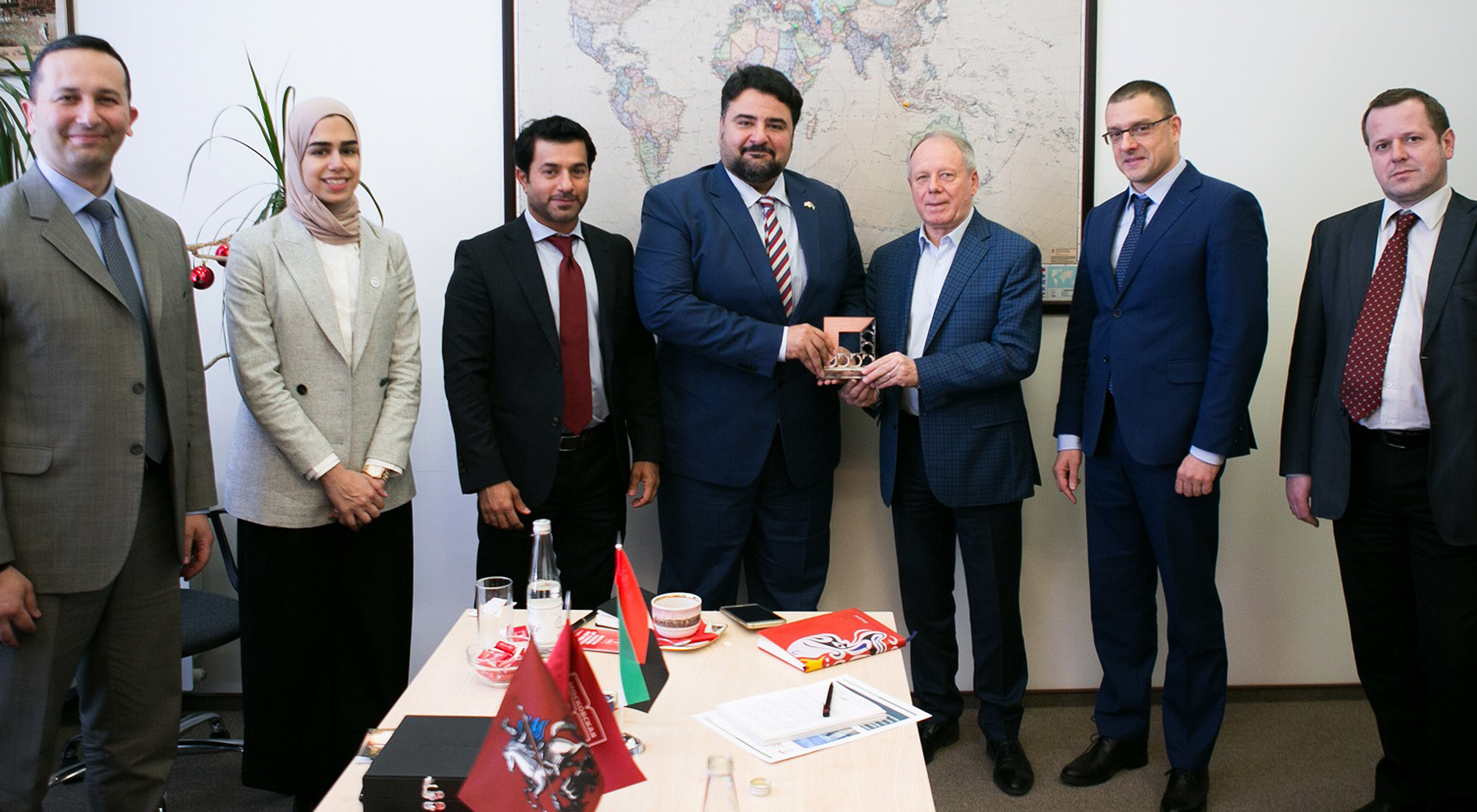 Mission from Dubai Chamber of Commerce reaches Russia, Belarus for ventures