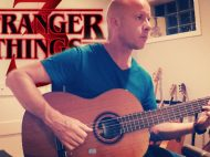 Stranger Things (Season 3): The First I Love You | fingerstyle guitar