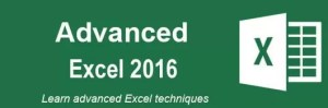 Learn Advanced Excel 2016 @Intellisoft