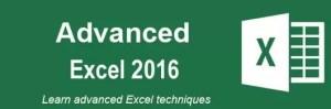 Learn Advanced Excel 2016 @Intellisoft