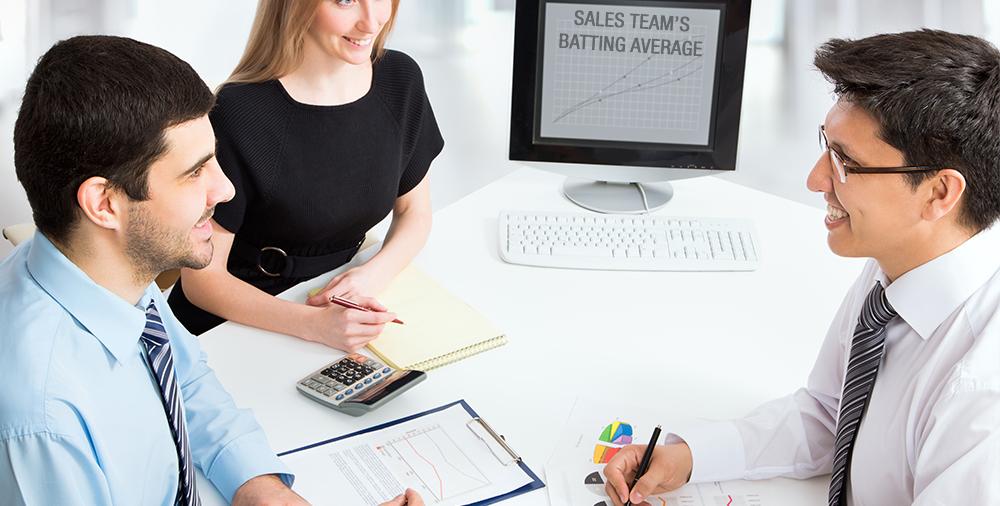 Sales Team's Batting Average?