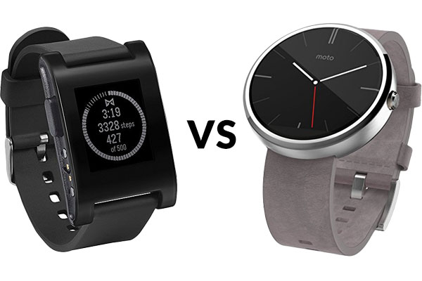 Pebble vs Moto 360 – Which Should You Get