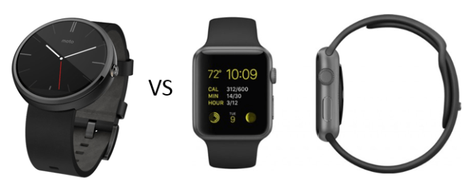 moto 360 vs apple watch sport