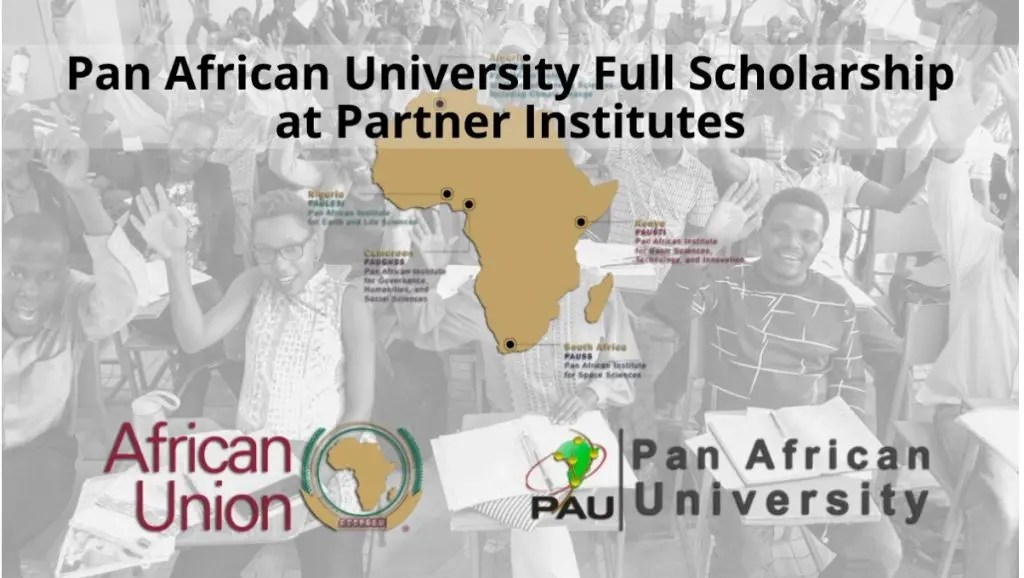 Pan African University Scholarships: Masters & PHD