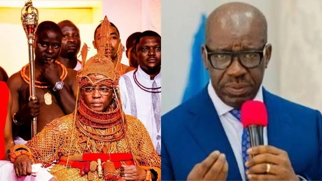 Obaseki disrespects Oba of Benin