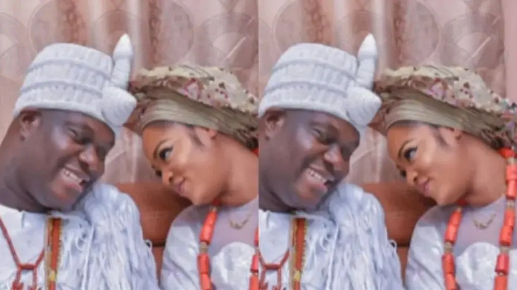 Ooni of Ife's wife spotted dancing at her son naming ceremony (video)