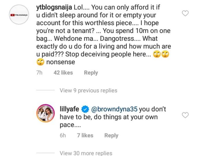 Lillian afegbai post
