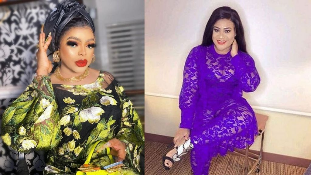 Bobrisky and Nkechi Blessing spill each other's secrets as they fight dirty