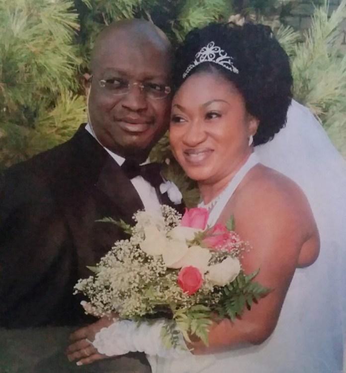 Mr and Mrs Daramola