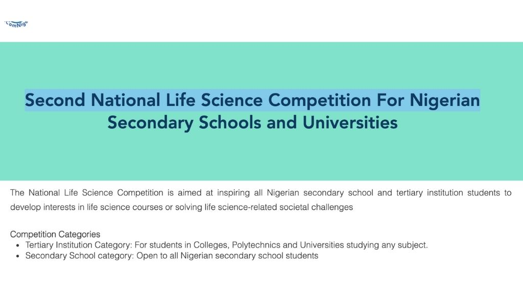 National Life science Competition